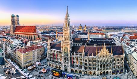 München und andere süddeutsche Städte bieten optimale Studienbedingungen.