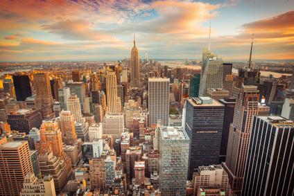 Eines der Traumziele in den USA, nicht nur für Studierende: New York.